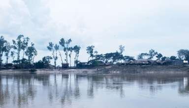 riverbank erosion IN BANGLADESH